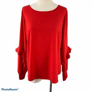 RW&CO Red Blouse NWT